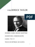 Trabajo2 Fredereick Taylor