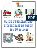 Guide d'Utilisation BICARBONATE de SOUDE