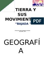 3 La Tierra y Sus Movimientos