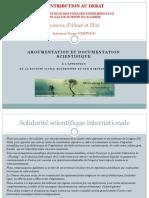 Contribution Au Debat Gaz de Schiste en Algerie Doc No Fracking France