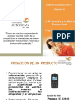 promocion de marketing