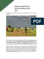 Carlos Carmona, Al Frente de La Formalización de Las Tierras en El Minagricultura