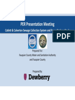 Draft Catlett Calverton Sewer Engineering Report — Dewberry