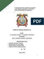 Pequeña Mineria y Mineria Artesanal Impri