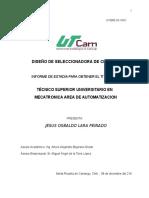 UTDRE-53 Informe de Estadía R01