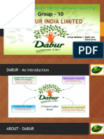 Dabur and ariba consulting group