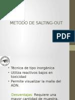 Metodo de Salting-out