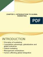 Global marketing- Wareen Keegaan chapter 1