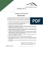 Ensayo 2_Lenguaje y Comunicación