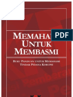 Buku Saku Anti Korupsi