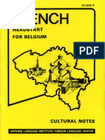 French Headstart for Belgium Culture Notes