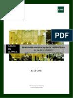 Guia de Estudio de Principios Basicos de Quimica y Estructura - UNED