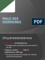 Male and Female Sex Hormones