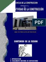 01 - Semana 01 y 02 - Normatividad en La Construccion