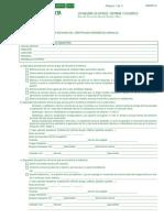 Certificado Excención de Emición de Certificado Energético Andaluz
