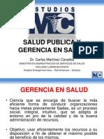 SALUD PUBLICA GERENCIA EN SALUD