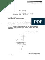 Junta de Portavoces 30.11.2016