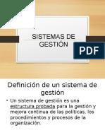 19. Sistemas de Gestión