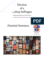 Election of a Bishop Suffragan - Potential Nominees