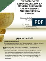 SIG_Diplomado Areas Verdes 2015