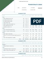 printable nutrition report for jadarai