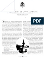 FOUNDATION OF OTTOMAN STATE by Halil INALCIK