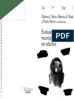 Evaluación Neuropsicológica de Adultos