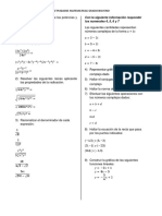 Actividades Para La Habilitacion Matematicas Grado 9