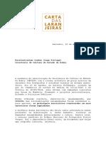 3 Carta Das Laranjeiras Fotografia BA 12.08.2016