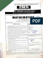Test 11- 2013