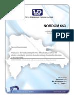 Norma 653 Mezcla de Gasolina Con Etanol