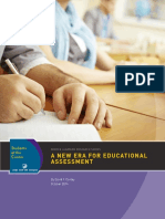 A New Era for Educational Assessment 092414 0