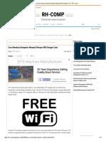 Cara Membuat Komputer Menjadi Hotspot Wifi Dengan Cmd - RH-Comp
