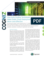 How Auto-Scaling Techniques Make Public Cloud Deployments More Cost-Effective