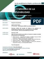 Programa Sesión Formativa CERMI Madrid-Ayto. Madrid EMPLEO
