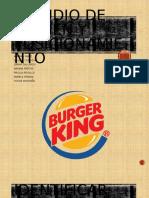 Estudio de Imagen Burger King Bolivia