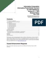 Informatica PowerCenter Connect Ver 8.1