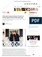 Chip and Joanna Gaines' Church is Firmly Against Same-Sex Marriage