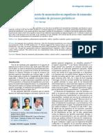 Adsorción y polimerización de aminoácidos en superficies de minerales