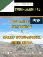 D S 024 2016 Reglamento de SSO MINERIA PDF