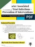 cauti prevention