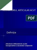 Reumatismul Poliarticular Acut Prezentare Slideuri