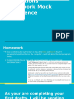 resolutions homework and mock conference