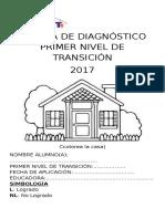 Prueba de Diagnostico Pre Kinder 2014