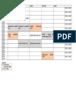 Raspored Elfak IV I