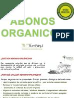 abonos organicos - liquidos