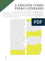 Roberto Calasso - La Edición Como Género Literario