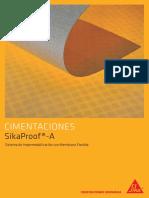 SikaProof a - Sistema de Impermeabilizacion Con Membrana Flexible