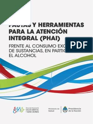 Pautas Y Herramientas Atencion Integral Consumo Salud