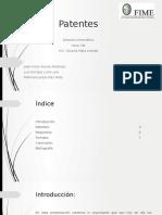 Patentes presentacion